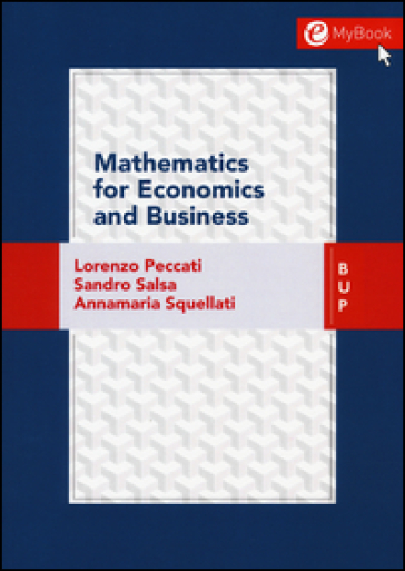 Mathematics for economic business - Lorenzo Peccati |
