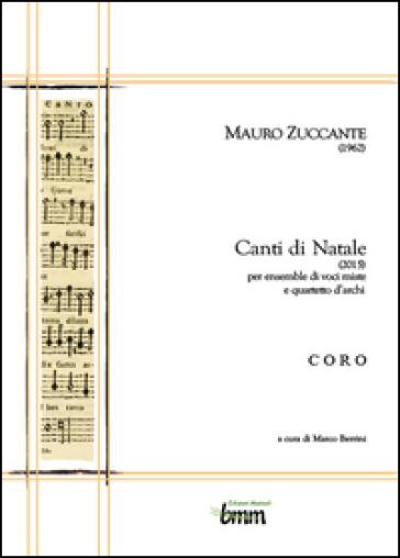 Mauro Zuccante. Canti di Natale (2015) - Marco Berrini | Thecosgala.com