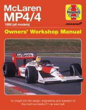 Mclaren Mp4/4 Owners  Workshop Manual