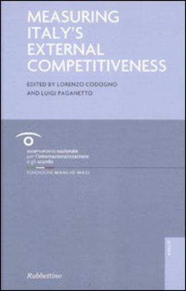 Measuring Italy's external competitiveness - L. Codogno pdf epub