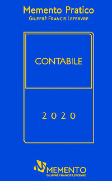Memento pratico. Contabile 2020