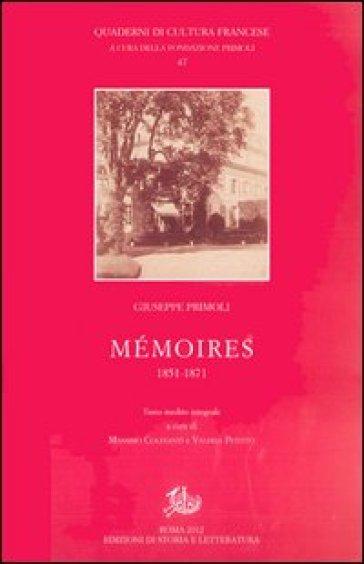 Mémoires (1851-1871) - Giuseppe Primoli |