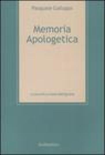 Memoria apologetica - Pasquale Galluppi |