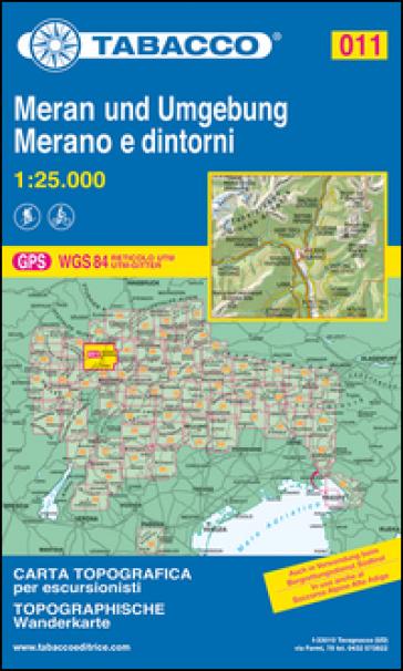Merano e dintorni 1:25.000