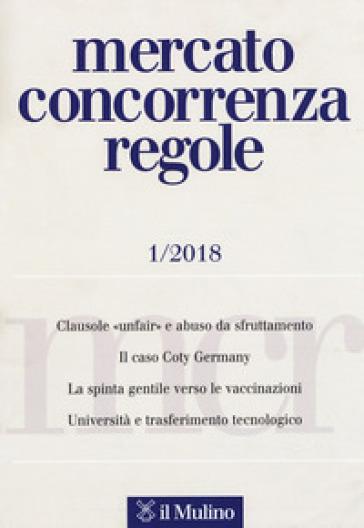 Mercato concorrenza regole (2018). 1.
