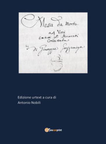 Messa da morto - Antonio Nobili |