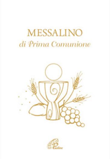Messalino di prima comunione - G. De Roma |