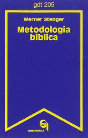 Metodologia biblica - Werner Stenger pdf epub