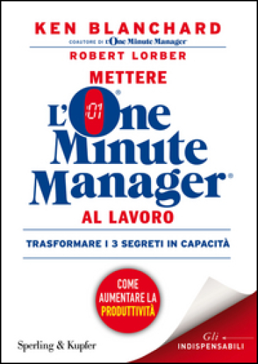 Mettere l'one minute manager al lavoro