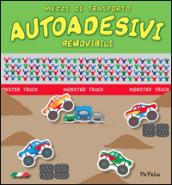 Mezzi di trasporto. Autoadesivi removibili - Eugenia Dolzhenkova, Luca Grigolato