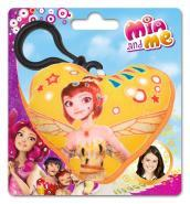 Mia And Me - Mini-Cuscino Con Clip On 9x9 Cm Yuko
