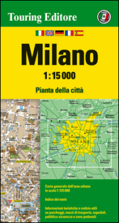 Milano 1:15.000. Ediz. multilingue