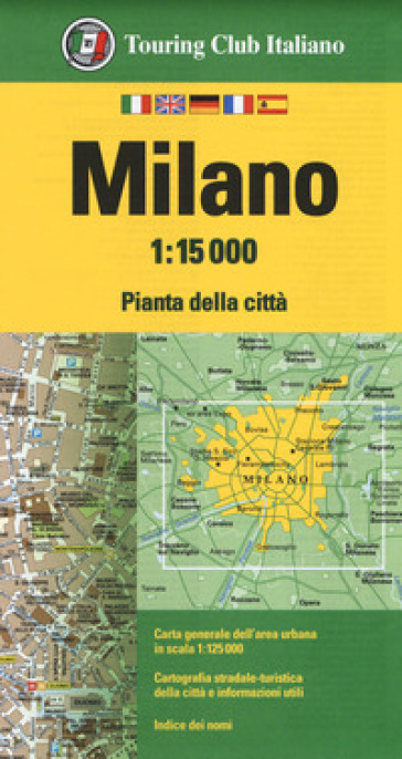 Milano 1:15.000 -  pdf epub