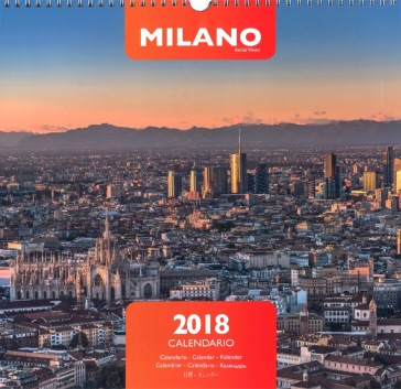 Calendario Milano.Milano Calendario Da Parete 2018 Ediz Multilingue