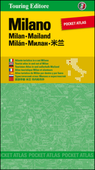 Milano. Pocket atlas. Ediz. multilingue