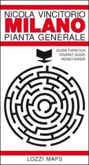 Milano pianta generale