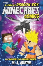 Minecraft Comics: A Lenda de Dragon Boy Ed. 1