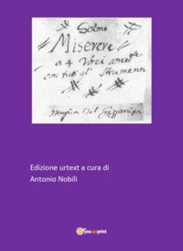 Miserere - Giuseppe Gazzaniga |