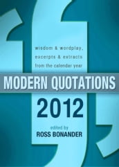 Modern Quotations 2012