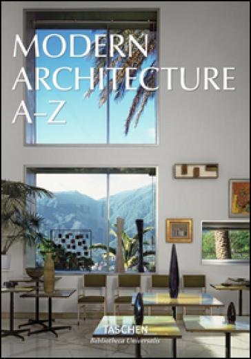 Modern architecture A-Z. Ediz. illustrata