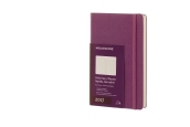 Moleskine 12M Daily Large Grape Violet Hard Cover