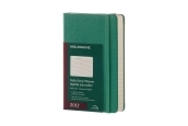 Moleskine 12M Daily Pocket Malachite Green Hard Cover