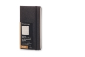 Moleskine 12M Planner Weekly Notebook Panoramic Slim Size Black Hard Cover