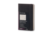 Moleskine 12M Planner Weekly Horizontal Pocket Black Hard Cover