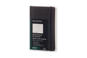 Moleskine 12M Planner Weekly Notebook Pocket Black Soft Cover
