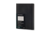 Moleskine 12M Planner Weekly Notebook Extra Large Black Soft Cover