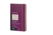 Moleskine 12M Weekly Notebook Pocket Grape Violet Hard Cover