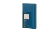 Moleskine 12M Weekly Notebook Large Steel Blue Hard Cover
