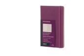 Moleskine 12M Weekly Notebook Large Grape Violet Hard Cover