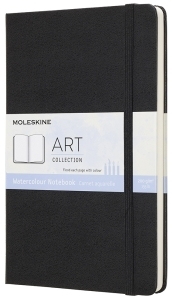 Moleskine Taccuino Watercolor - Large - Nero