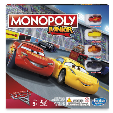 Monopoly Junior Cars