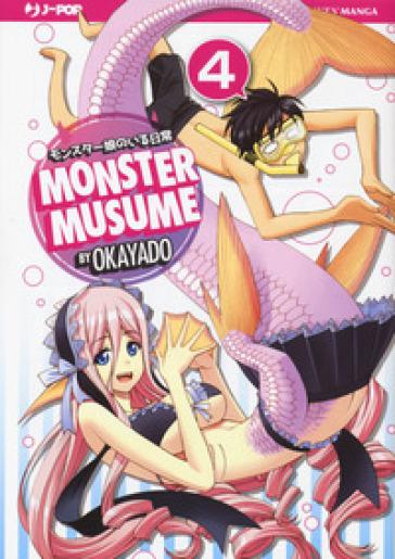 Monster Musume. 4. - Okayado  