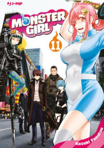 Monster girl. 11. - Kazuki Funatsu |