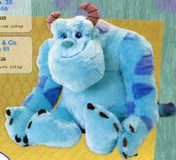 Monsters \u0026 Co. - Peluche Sulley Cm 61 - - idee regalo - Mondadori