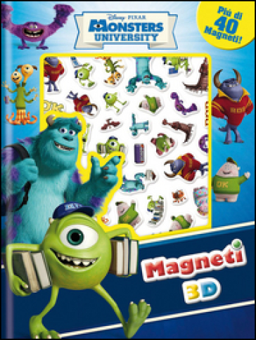 Monsters University. Con magneti 3D