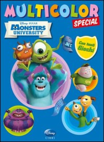 Monsters University. Multicolor special