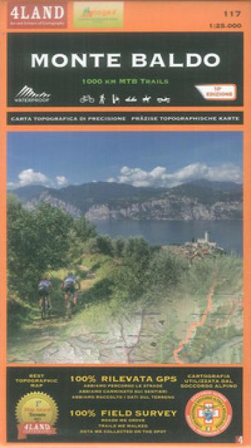 Monte Baldo. 1000 km mountainbike trails 1:25.000. Ediz. italiana, inglese e tedesca - Enrico Casolari | Rochesterscifianimecon.com