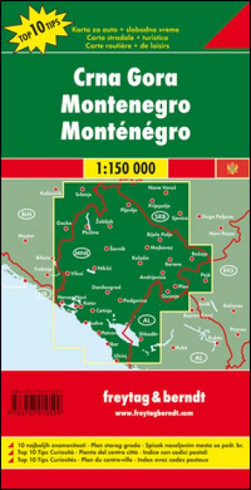 Montenegro 1:150.000