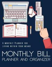 Monthly Bill Planner and Organizer