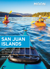 Moon San Juan Islands (Sixth Edition)