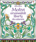 Motivi ornamentali. Liberty da colorare