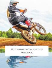 Motorsports Composition Notebook