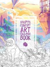 Mrsuicidesheep s Concept Art Colouring Book