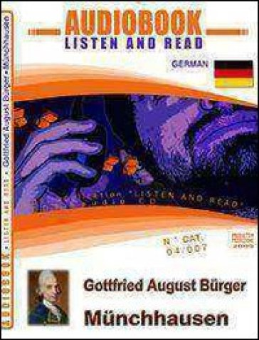 Munchhausen. Audiolibro. CD Audio e CD-ROM - Gottfried A. Burger  