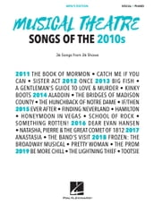 Musical Theatre Songs of the 2010s: Men s Edition