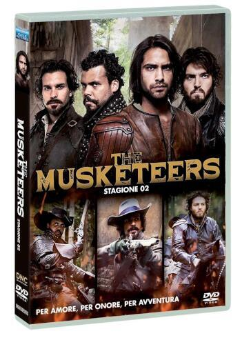 Musketeers (The) - Stagione 02 (4 Dvd)